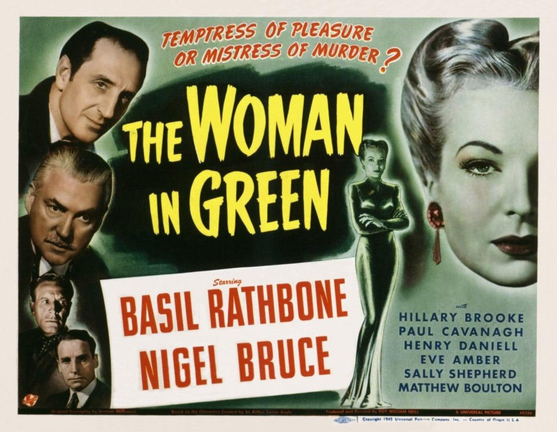 Sherlock Holmes e a Mulher de Verde (1945)